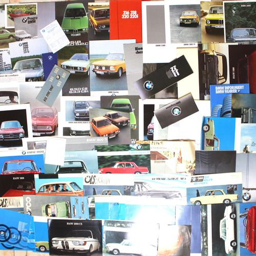B.M.W. Documentation  A lot of documentation of the German brand B.M.W from 1956…