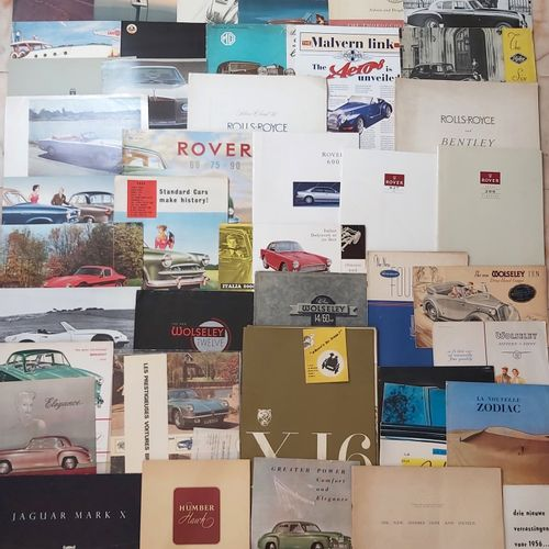 Documentation ENGLISH Brands  Lot of documentation on English brands or vehicles…