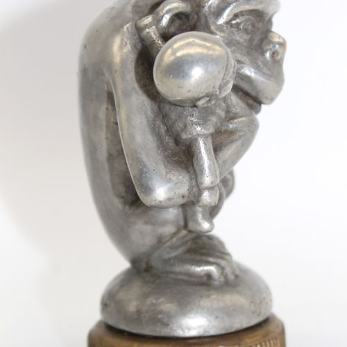 Bourcart  Youth Ahoy  Mascot signed Bourcart and titled Ohé la Jeunesse. Silver …