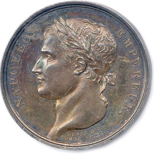 NAPOLEON I 1804 1814 NAPOLEON EMPEROR. His head laurel on the left. R/. NAPOLEON…