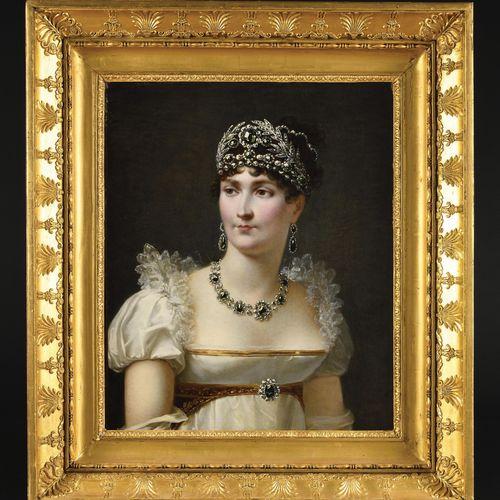 JEAN BAPTISTE REGNAULT, BARON (1754 1829) Portrait of the Empress Josephine wear…