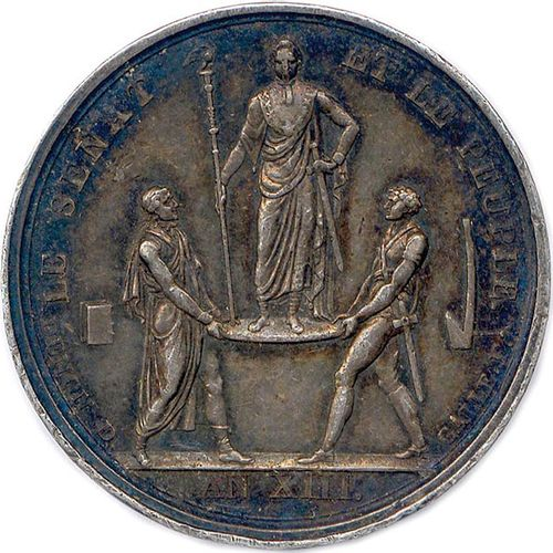 NAPOLEON I 18 MAY 1804 6 APRIL 1814 NAPOLEON EMPEROR Head laurel on the left. R/…
