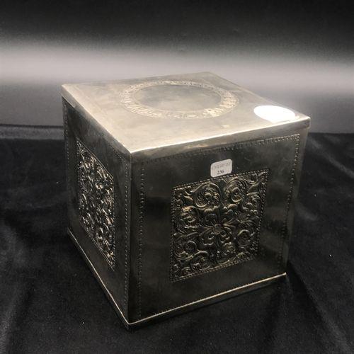 Silver plated copper box