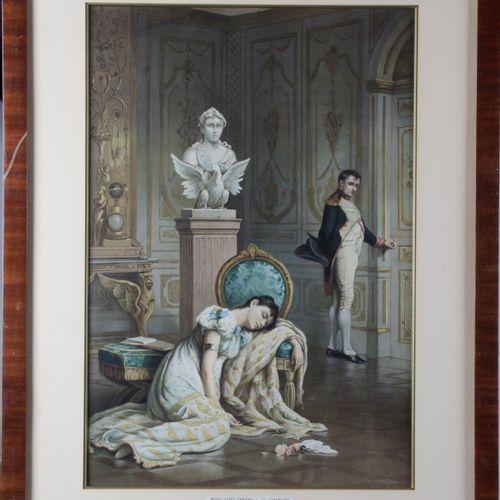 "From the work of John Pott, LASLETT. ""Napoleon's Farewell to Josephine and MALMA…"