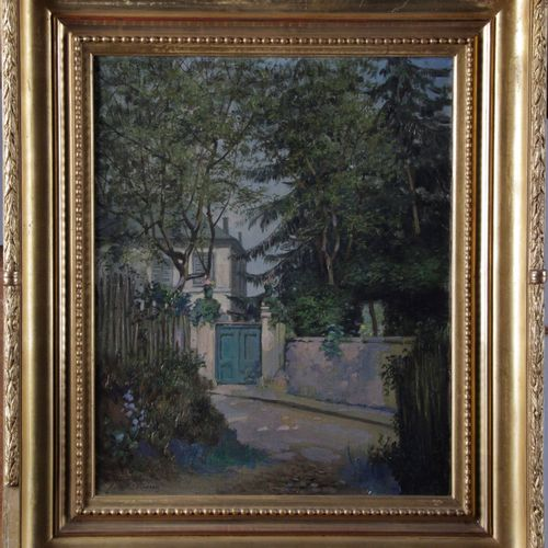 "Hippolyte NOËL, born in 1828. ""Oil on canvas, signed and located lower left. 44.…"