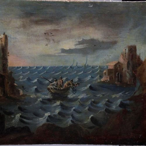 "ITALIAN SCHOOL, early 18th century. ""Oil on canvas. 70 x 58 cm"