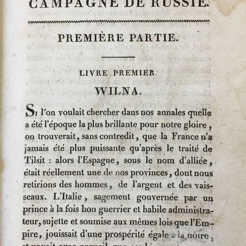 [Campagne russe du 1812]  LABAUME Eugène (1783–1849)  Relation circonstanciée de…
