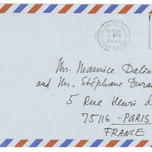 ALLILOUÏEVA SVETLANA (LANA PETER) (1926 2011), FILLE DE JOSEPH STALINE. AUTOGRAP…