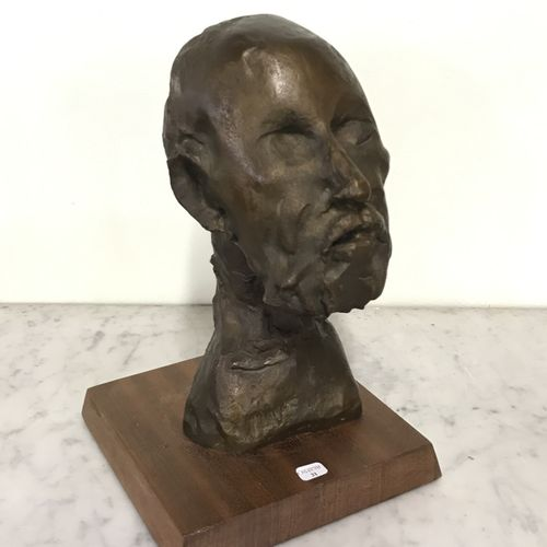 Jean Roulland (1931 2021) Jean ROULLAND (1931 2021)  Hippocrate  Bronze à patine…