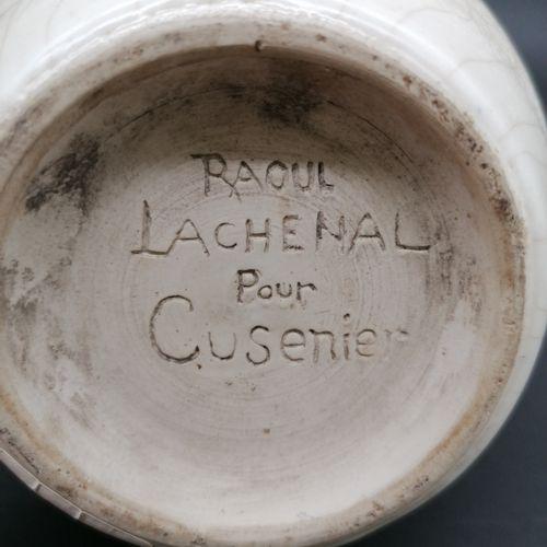 Raoul LACHENAL (1885 1956) RAOUL LACHENAL (1885 1956) POUR CUSENIER  Paire de bo…