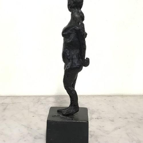 Paul GUIRAMAND  ARCHERE I  Sujet en bronze à patine brune  Signé sur le coté da …
