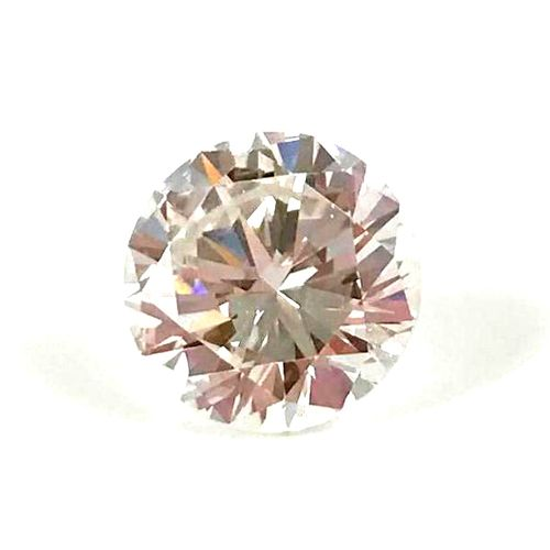 DIAMOND ON PAPER modern brilliant cut. Certificate LFG (preliminary examination)…