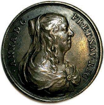 MEDAILLE EN ARGENT DE LOUIS XIV ET SA MERE ANNE D'AUTRICHE PAR JEAN VARIN. LVD•X…
