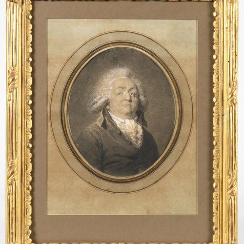 JEAN URBAIN GUERIN (1761 1836) Portrait d'Honoré Gabriel Riqueti, comte de Mirab…