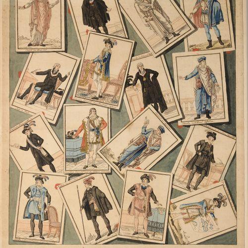 INTERESSANTE REUNION DE COSTUMES REPUBLICAINS Les costumes des représentants du …