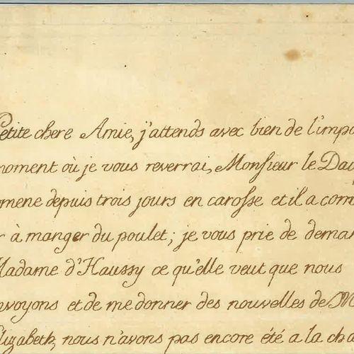 LOUIS XVIII (LOUIS STANISLAS XAVIER, COMTE DE PROVENCE, FUTUR). Lettre autograph…