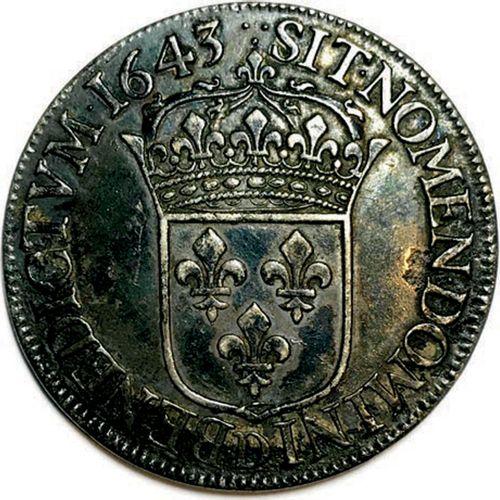 LOUIS XIII 16 MAI 1610 – 14 MAI 1643 LVDOVICVS•XIII•D•G•FR•ET•NAV•REX. Son buste…