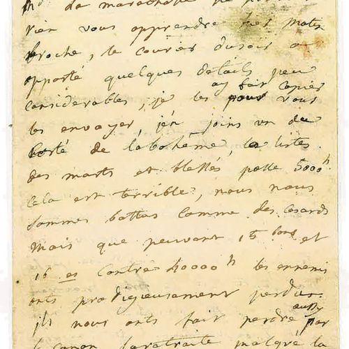 POMPADOUR (JEANNE ANTOINETTE POISSON, MARQUISE DE). Lettre autographe [au duc de…