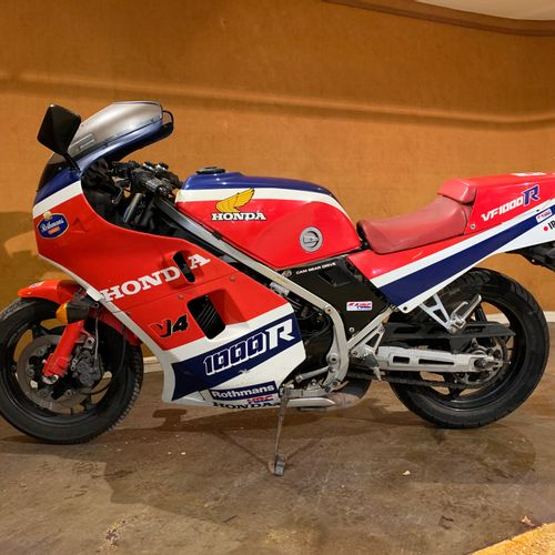 1985 HONDA VF 1000 R Serial number 2003259  Sold with a copy of the French car r…