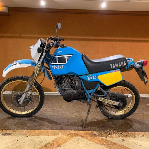 1985 YAMAHA XTZ 600 TENERE Serial number 026350  Sold with a copy of the French …