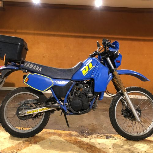 C1985 YAMAHA DTLC 125 Serial number IHR 037505  Sold without car registration   …