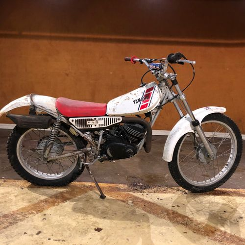 C1987 YAMAHA TY 125 Serial number IK6 075544  Sold without car registration    T…
