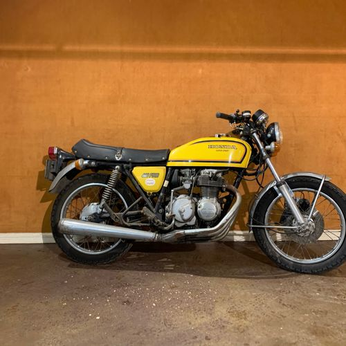 C1977 HONDA CB 400 FOUR SUPER SPORT (F2) Serial number 2057449  Sold without car…