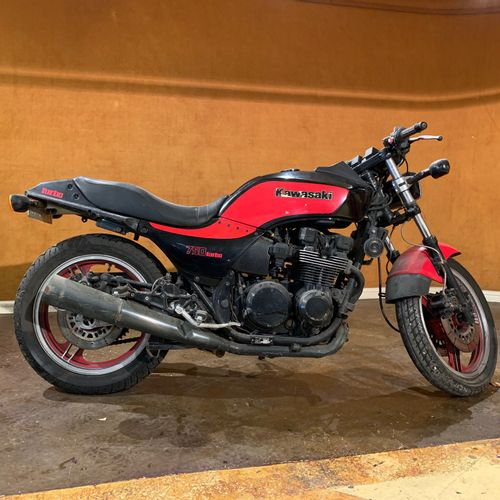 1985 KAWASAKI GPZ 750 TURBO Serial number 003742  Sold with a copy of the French…