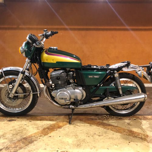 1974 YAMAHA TX 750 Serial number 504216  Sold with a copy of the car registratio…