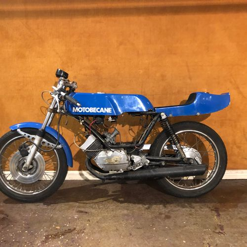 C1976 MOTOBECANE 125 LT3 COUPE Engine number 3038043  Competition motorcycle sol…
