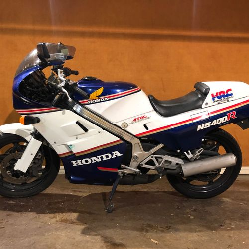 1985 HONDA NS 400 R Serial number 20015900  Sold with a copy of the French car r…
