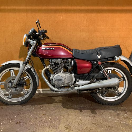 1978 HONDA CB 400 A Serial number 2057449  Sold with a copy of the French car re…