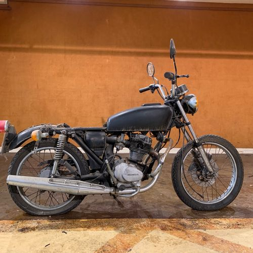 1976 HONDA CB 125 S3 TYPE J Serial number 1030746  Sold with a copy of the Frenc…