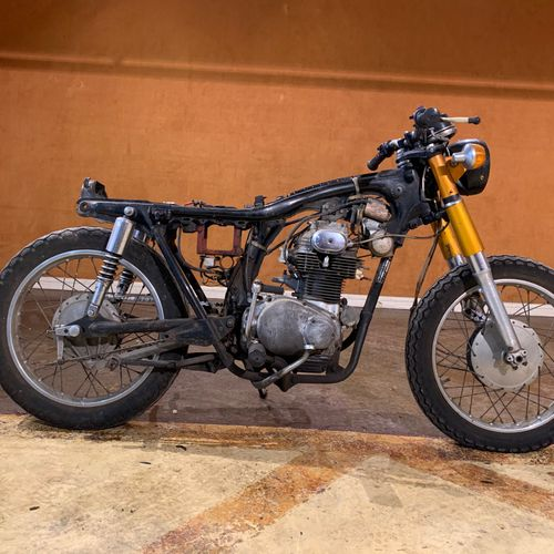 1973 HONDA CB 250 Serial number 5028075  Sold with a copy of the French car regi…
