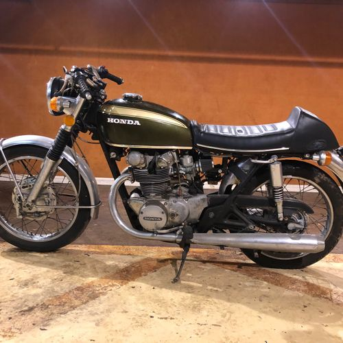 1973 HONDA CB 450 Serial number 5033966  Sold with a copy of the French car regi…