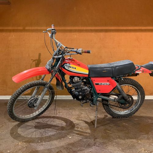 C1979 HONDA XLS 125 Serial number 5004174  Sold without car registration    The …
