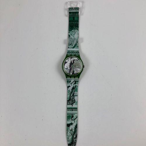 """特警队 约1991年。 编号:GG112。 Cupydus """"模型腕表。 石英机芯。 崭新的状态,原盒。 直径:34毫米。 为了更好地保存,购买时将电池取出,不…"""