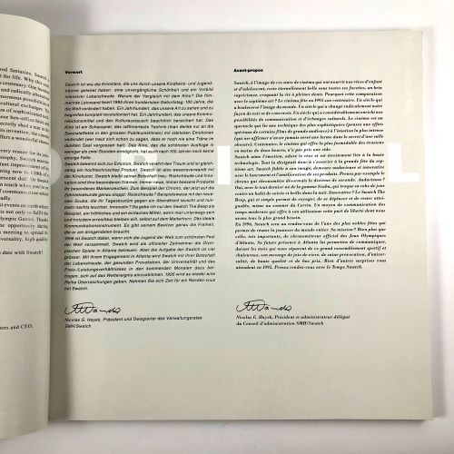 Livre Swatch 1994