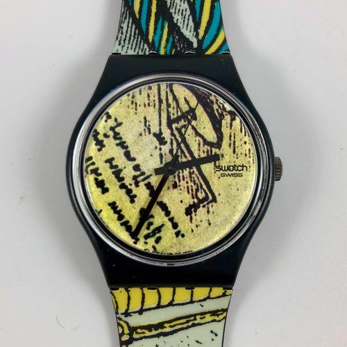 """特警队 约1990年。 编号:GB139。 工程师 """"型号的腕表。 石英机芯。 崭新的状态,原盒。 直径:34毫米。 为了更好地保存,购买时将电池取出,不包括在…"""