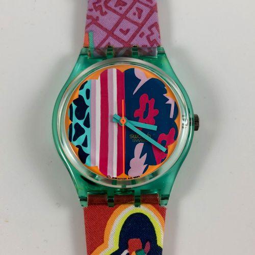 """Vers 1992. Réf: GL103. Montre bracelet modèle """"Mogador"""". Mouvement quartz. Etat …"""