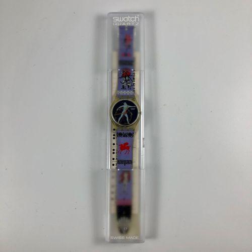 """特警队 约1992年。 编号:GK141。 Discobolus """"模型腕表。 石英机芯。 崭新的状态,原盒。 直径:34毫米。 为了更好地保存,购买时将电池取…"""