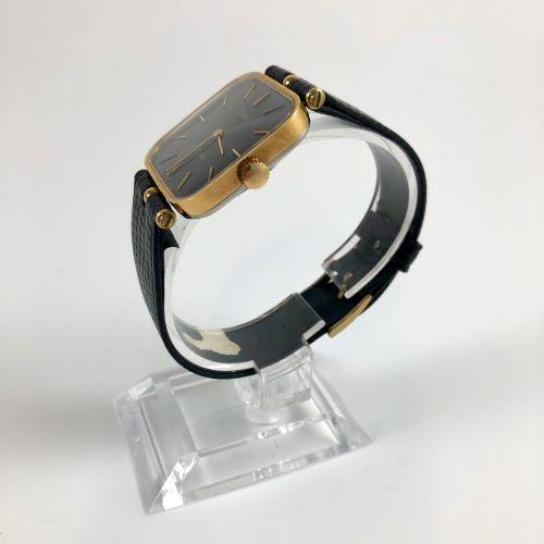 ESKA St. Moritz Réf 10 141. Montre bracelet Eska en plaqué or jaune. Boitier car…