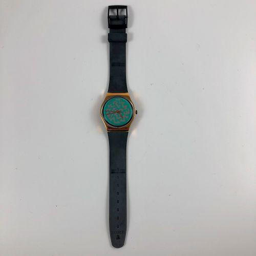 """SWATCH Vers 1991. Réf: GX706. Montre bracelet modèle """"Brightlight"""". Mouvement qu…"""