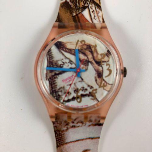 """特警队 约1990年。 编号:GP105。 手表型号 """"Masquerade""""。 石英机芯。 崭新的状态,原盒。 直径:34毫米。 为了更好地保存,购买时将电池…"""