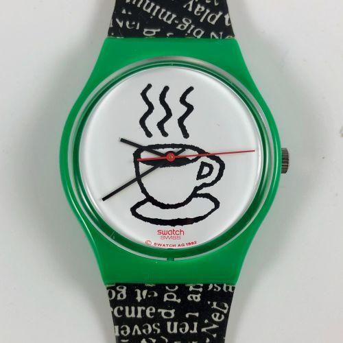 """特警队 大约在1993年。 编号:GG121。 卡布奇诺 """"腕表。 石英机芯。 崭新的状态,原盒。 直径:34毫米。 为了更好地保存,购买时将电池取出,不包括在…"""