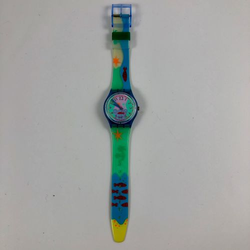 """特警队 约1991年。 编号:GN118。 手表型号 """"Hookipa""""。 石英机芯。 崭新的状态,原盒。 直径:34毫米。 为了更好地保存,购买时将电池取出,…"""