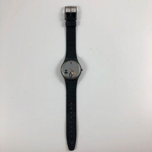 """SWATCH Vers 1991. Réf: GM107. Montre bracelet modèle """"High Beam"""". Mouvement quar…"""