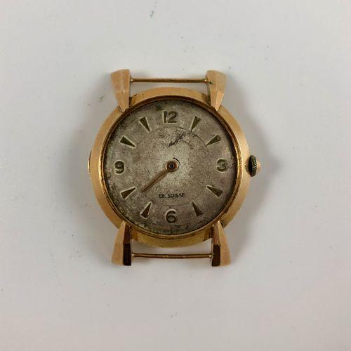 Lot de montres pour pièces dont 1 montre en or jaune 750/1000
