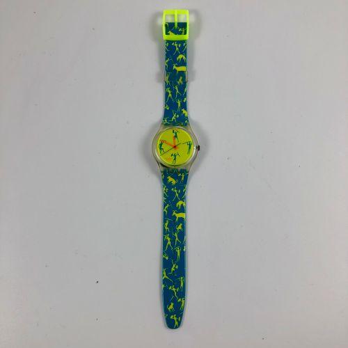 """特警队 约1989年。 编号:GK120。 Africancan """"腕表。 石英机芯。 崭新的状态,原盒。 直径:34毫米。 为了更好地保存,购买时将电池取出,…"""