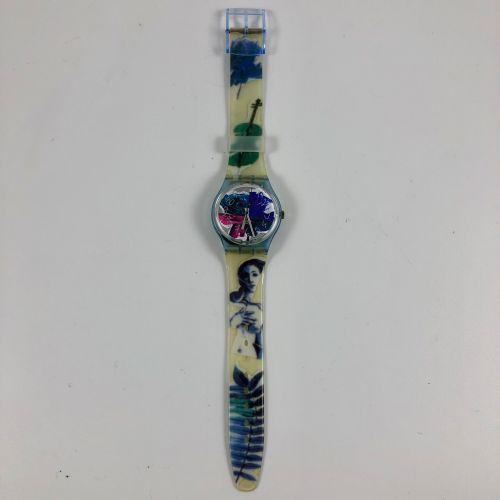 """特警队 约1991年。 编号:GN122。 手表型号 """"Photoshooting""""。 石英机芯。 崭新的状态,原盒。 直径:34毫米。 为了更好地保存,购买时…"""